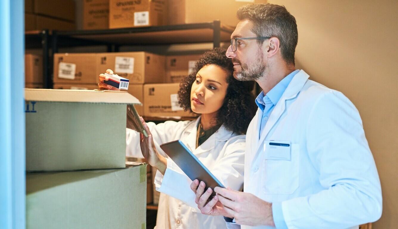 sistema de gestão de documentos na distribuição de medicamentos